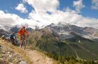 Mountain biking: Madritschjoch, the highest TransAlp pass